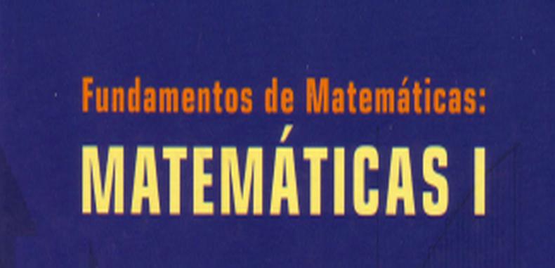 Fundamentos de Matematicas – Matematicas I (Descarga Gratuita)