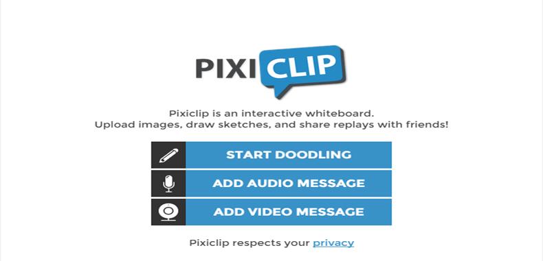 PixiClip una excelente herramienta para narrar y compartir dibujos