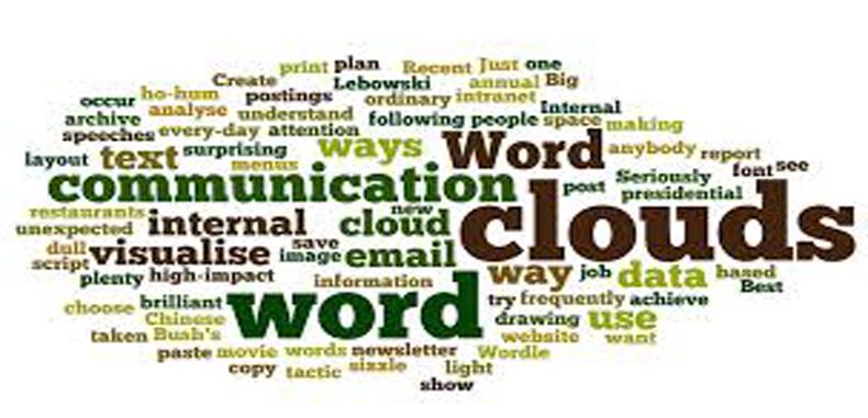 Los 5 mejores generadores de nubes de palabras (word cloud)