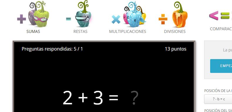 Matemáticas para niños con Math Cilenia