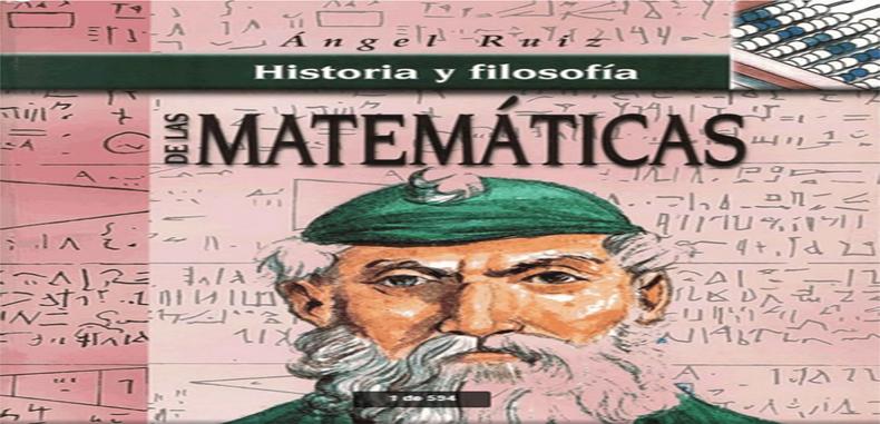 Historia Y Filosofia De Las Matematicas  (Descarga Gratuita)