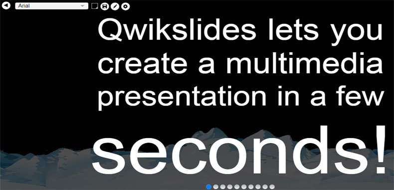 QwikSlides – una nueva opcion para crear presentaciones multimedia