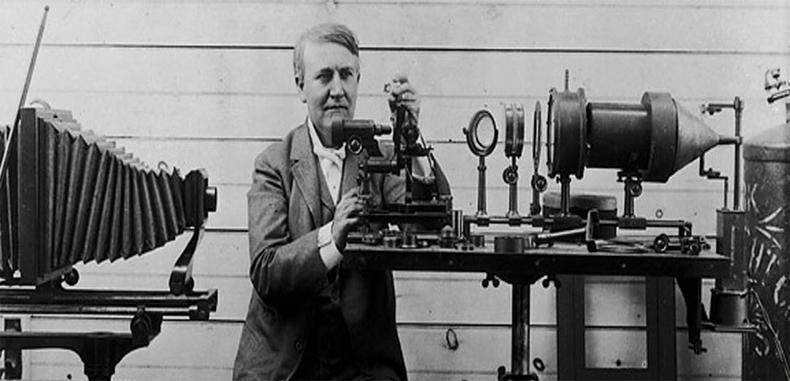 Edison inventó el fonógrafo – 21 de Noviembre de 1877