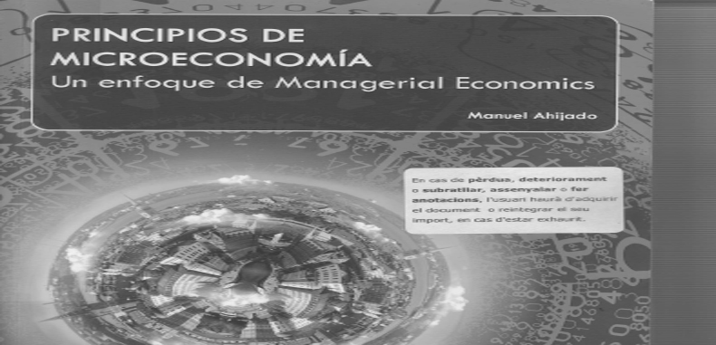 Principios de Microeconomia: Un enfoque de Managerial Economic (Descarga Gratuita)