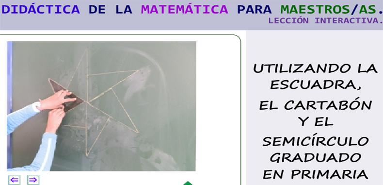Ilustración interactiva de un proyecto de area en primaria
