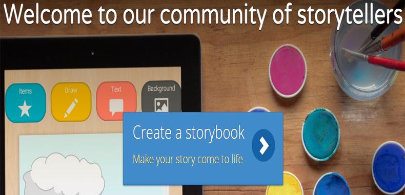 Crea una historia online con MyStorybook