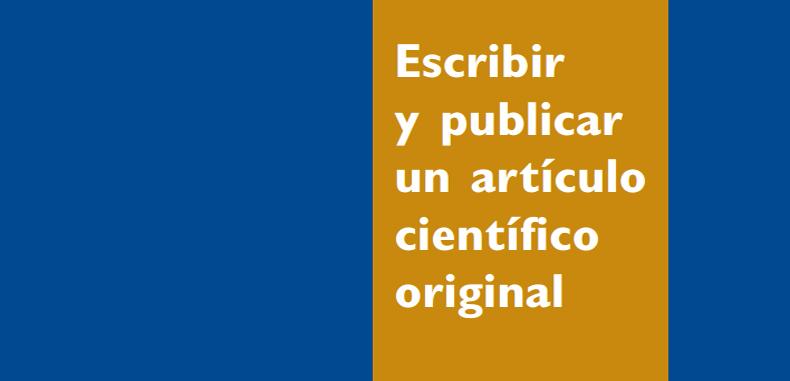Escribir y Publicar un Articulo Cientifico original en PDF