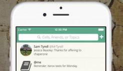 una aplicación por mensajes de texto enfocada en particular a la educación, ya que extrema las medidas de seguridad a la hora de tratar con información personal.