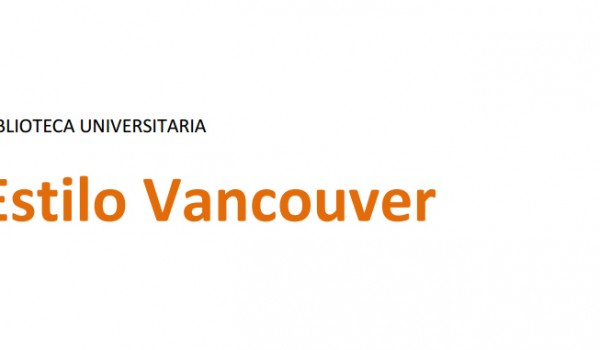 Las normas Vancouver o el estilo Vancouver es un tipo de reglas que se han conformado para buscar un criterio de uniformidad al momento de preparar y publicar un manuscrito que esté vinculado con las Ciencias de la Salud.