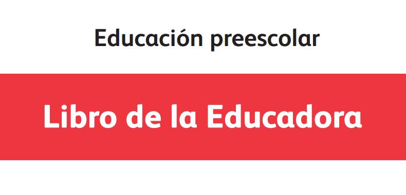 Libro de la Educadora en PDF para docentes