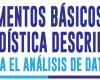 El propósito del texto es ofrecer una guía para la comprensión de los elementos básicos que permiten analizar un conjunto de datos.