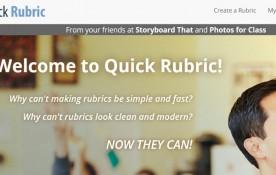Esta herramienta gratuita permite a los docentes escribir, editar e imprimir rúbricas. Quick Rubric puede crear una rúbrica que se adapte a su sistema de puntuación, y además se puede guardar tantas rubricas como desee en su cuenta de Quick Rubric gratuita.