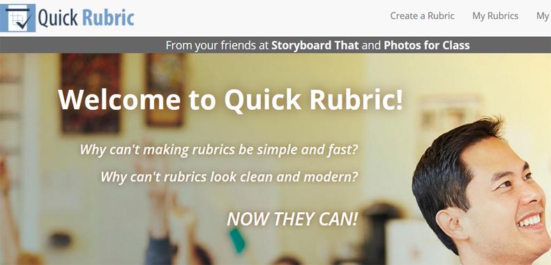 Crea rubricas en línea con Quick Rubric