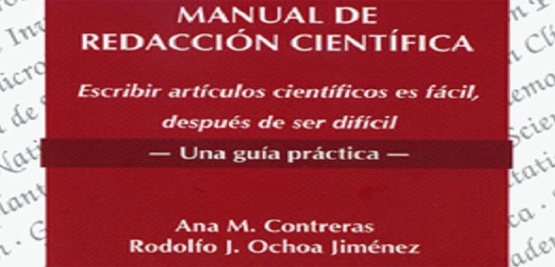 Manual de Redacción Científica en PDF por Ana M. Contreras