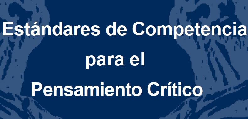 Estándares de Competencia para el Pensamiento Crítico en PDF