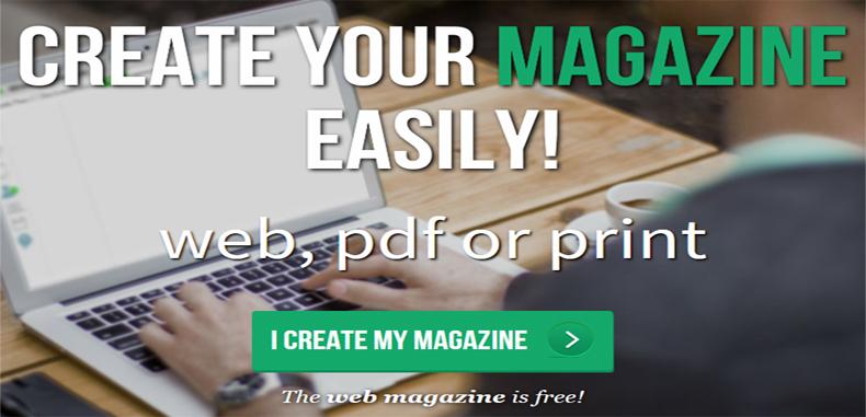 Crea un periódico escolar en línea con Madmagz de forma gratuita