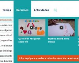 """Xplore Health es un programa educativo europeo impulsado conjuntamente por IrsiCaixa y Obra Social """"la Caixa"""", con la colaboración de la Fundación Amgen, que ofrece recursos multimedia interactivos para acercar a las aulas de secundaria la investigación biomédica actual y la reflexión en torno a las implicaciones bioéticas de la investigación."""