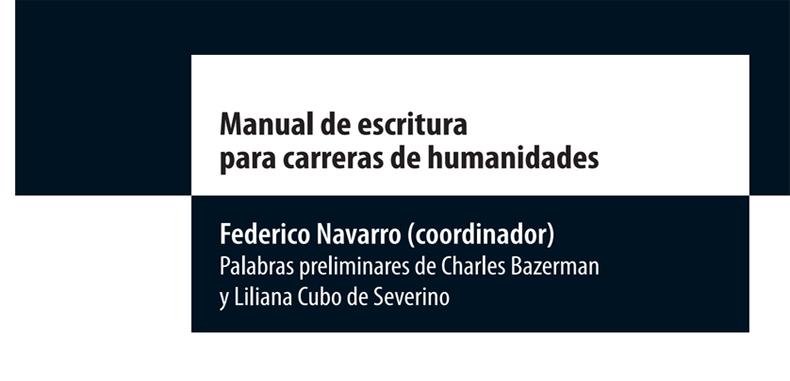 Manual de escritura para carreras de humanidades en PDF