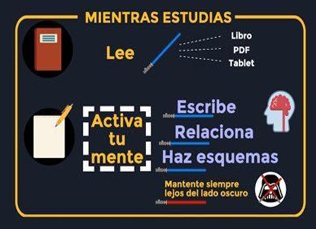 Mientras estudias– Infografía