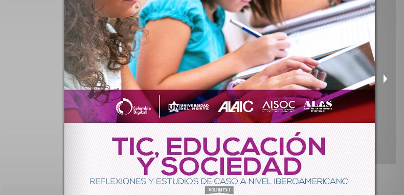 TIC, educación y sociedad (Libro digital)