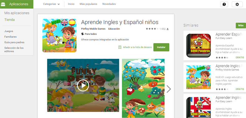 540 Aplicaciones educativas gratuitas para tablets y Movil (Actualizado 2015)