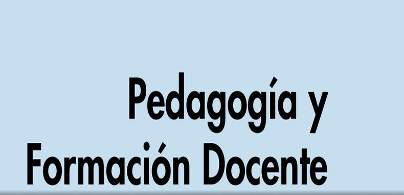 Pedagogia y Formacion Docente (Descarga gratuita)