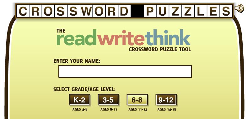 Dos crucigramas (Crosswords) muy útiles para docentes