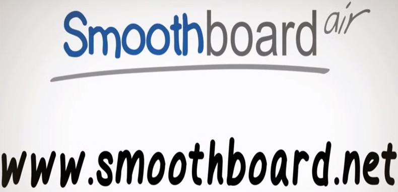 SMOOTHBOARD AIR – excelente para utilizar dispositivos móviles en clase