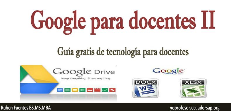 Google para Docentes II