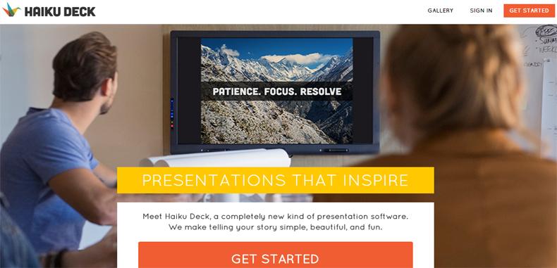 Dos nuevas herramientas para crear presentaciones en línea