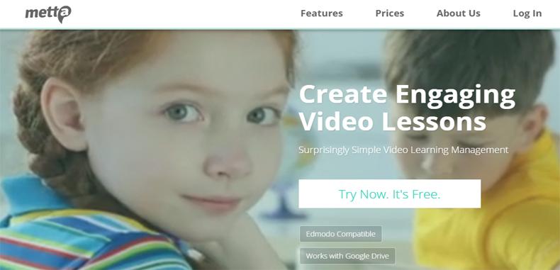 Metta para docentes – Crea presentaciones multimedia y almacénalos en Google Drive