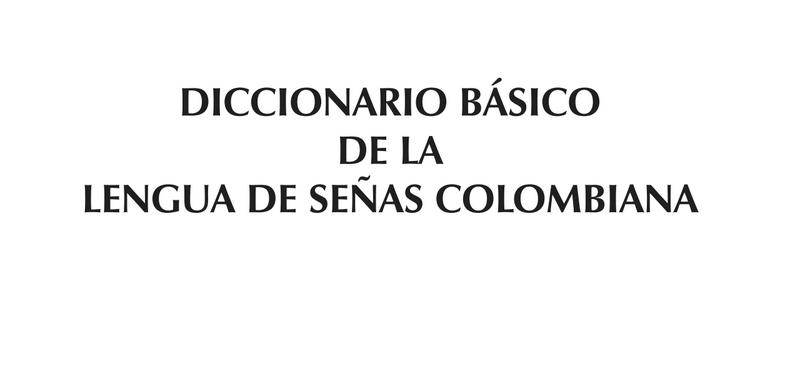 Diccionario Básico de la Lengua de Señas (Descarga Gratuita)