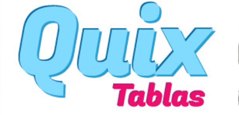 Aprende las tablas de multiplicar con Quix Tablas en Android y para iPad/iPhone