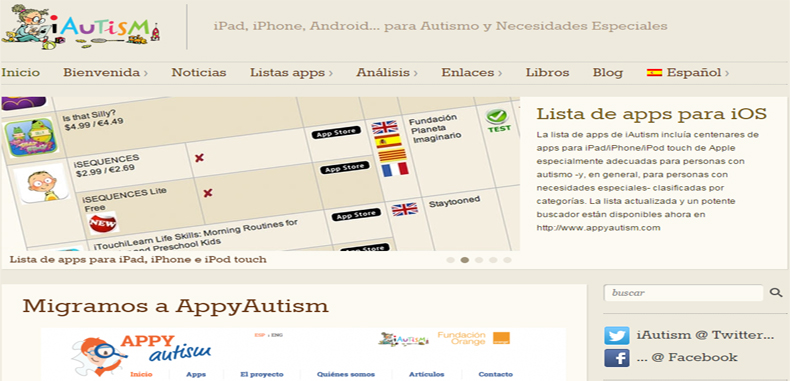 2 paginas web muy interesantes para niños con autismo