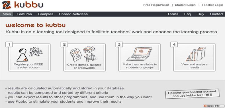 Actividades educativas con Kubbu para docentes