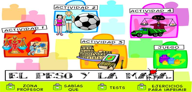 35 actividades de masa y peso para estudiantes