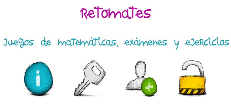 Retomates un sitio web de matematicas para ultimo ciclo de primaria