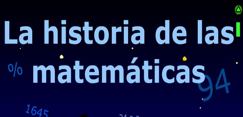 La Historia de las matematicas en flash y matematicos famosos