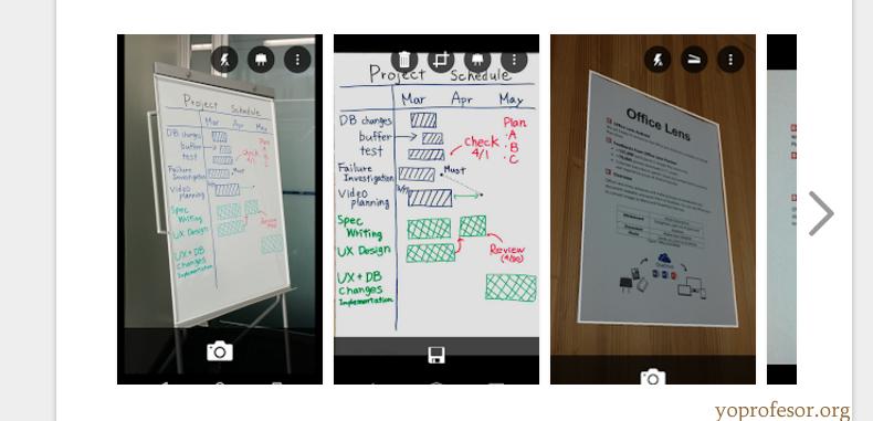 Office Lens, lo que estudiantes y docentes estaban esperando