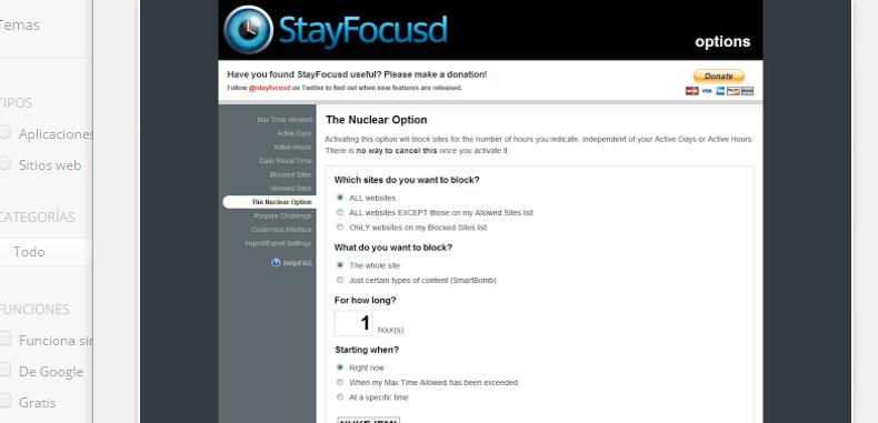 Stay Focusd te ayuda a olvidar las distracciones