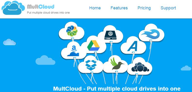 MultCloud: Agrega todos tus archivos de Google Drive o SkyDrive en un solo lugar