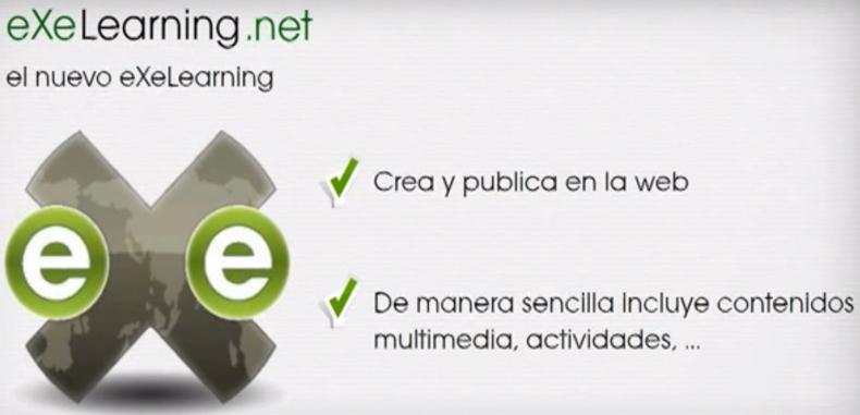 Crea recursos educativos en la web con eXeLearning