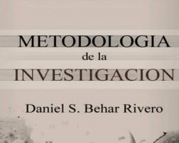 Metodología de la Investigación por Behar Rivero en PDF