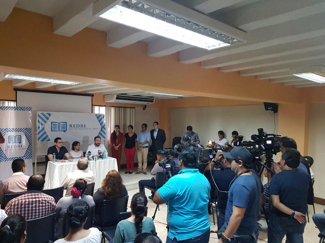 Rueda de Prensa REDBE