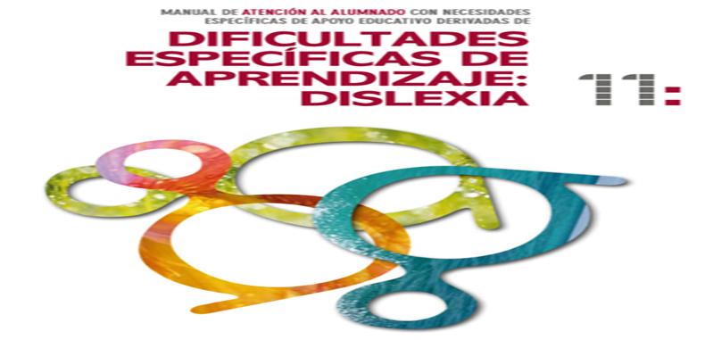 Dificultades específicas de aprendizaje: DISLEXIA, Manual en PDF