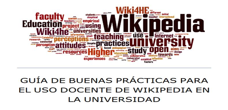 Guía de buenas prácticas para el uso docente de wikipedia en la universidad – PDF