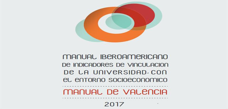 Manual Iberoamericano de  indicadores de vinculación de la universidad con el entorno socioeconómico manual de Valencia en PDF