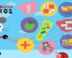 Hoy compartimos con ustedes una App elaborada por Tap Tap Tales, una startup desarrolladora de apps especializada en contenidos educativos, infantiles y de calidad. Esta divertida App llamada Arty Mouse Números está dirigida a niños y niñas de 3 a 6 años y contiene un total de 12 juegos distintos llenos de diversión y animaciones, que el niño podrá realizar y repetir en diferentes diseños y tipología.