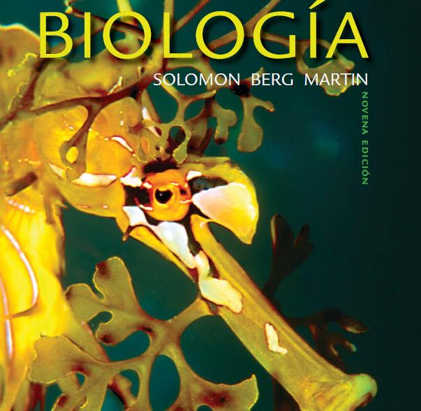 Biologia Solomon, Berg Martin 9a edicion