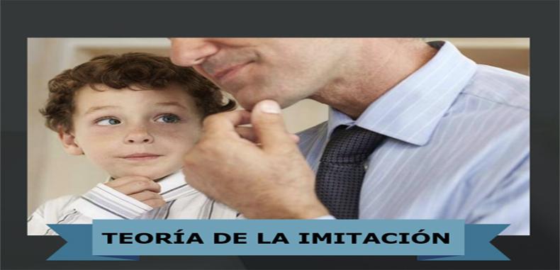 Teorías de la imitación, como un medio importante de transmisión de comportamientos
